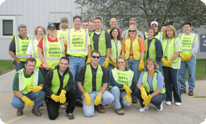 Martin Engineering Participates in Adopt a Highway